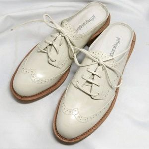 Jeffrey Campbell oxford mules